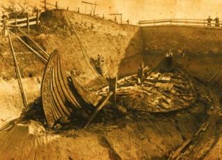 ギャラリー:9世紀のバイキング船、埋葬された高貴な女性の謎 写真5点