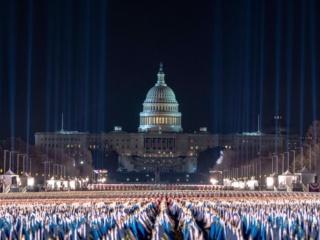 ギャラリー:就任式目前、厳戒態勢の首都ワシントン 写真24点