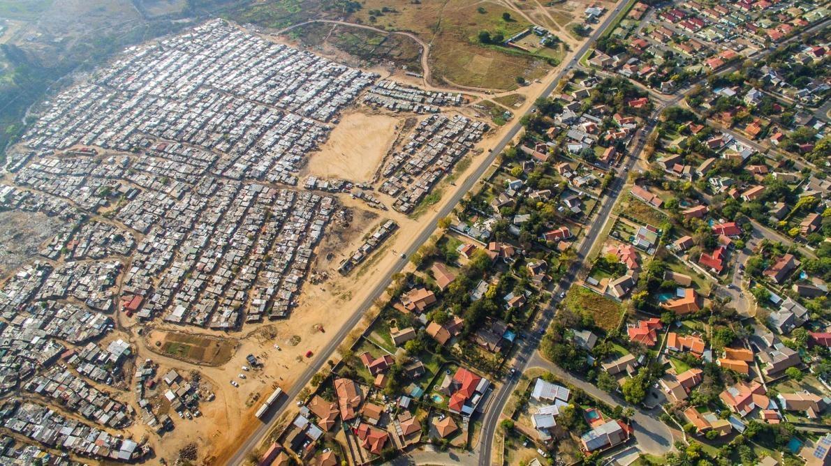 空から見える経済格差