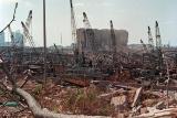 ギャラリー:「史上最大級の非核爆発」、ベイルートの街はいま、写真17点