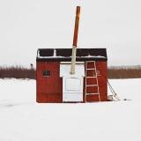 ギャラリー:カナダの氷上穴釣り小屋「アイスハット」 写真11点