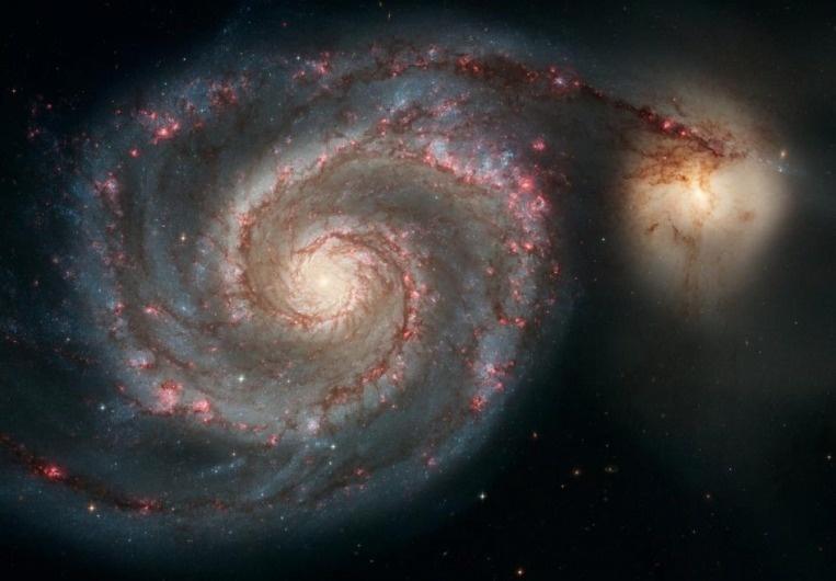 M51渦状腕