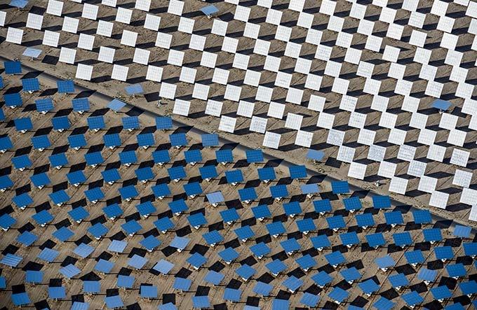 アートな太陽熱発電所