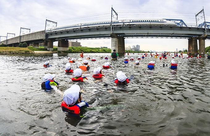 自然と人間 大都会のふるさと 多摩川