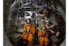 米国バージニア州にあるNASAのラングレー研究所。オリオンにダミーの人形を乗せ、プールで着水実験を行う。オリオンが月の近くまで有人飛行を行うのは2021年以降の予定で、帰還時は海に着水する。