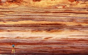 地層のアート