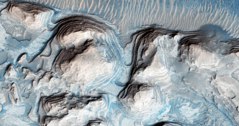火星に巨大津波の痕跡見つかる、異論も