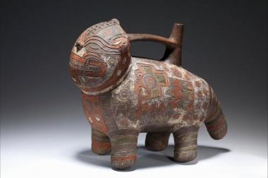 【ニュース】古代アンデスの土器、顔料に爬虫類のおしっこ