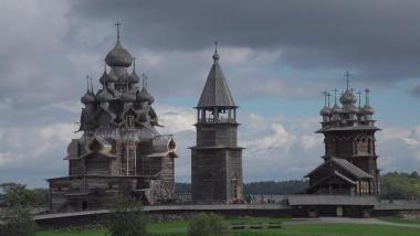 【ニュース】【動画】キジ島の木造教会建築、ロシアの世界遺産