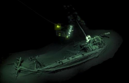 2400年前の沈没船を発見 驚きの保存状態 ナショナルジオグラフィック