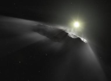 【ニュース】太陽系外から来た天体、地球大気圏で焼失か?