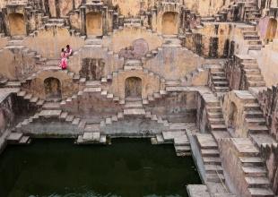 ジャイプールの階段井戸