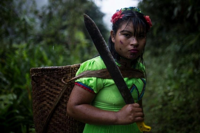 【ギャラリー】女性と子どもだけになった村、南米コロンビア高地、写真10点(写真クリックでギャラリーページへ)