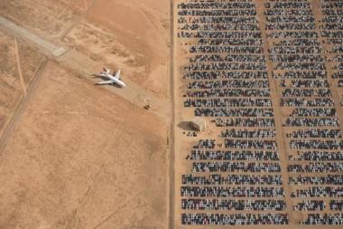 【Photo Stories】「車と飛行機の墓場」が大賞に、2018年ナショジオ写真コンテスト 写真22点