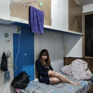 【Photo Stories】核シェルターで暮らす中国の人々、冷戦時代の遺物に100万人 写真16点
