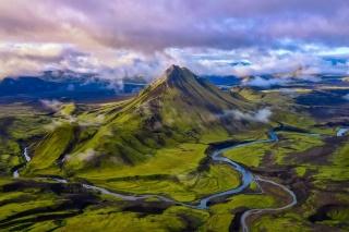緑のアイスランド