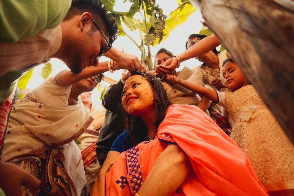 インドの結婚の儀式