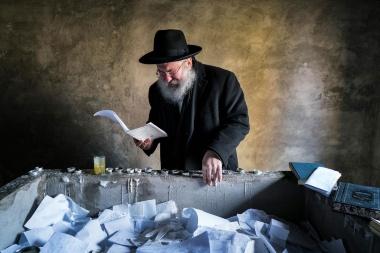 【Photo Stories】廃墟とユダヤ人:チェルノブイリはユダヤ教の街だった 写真18点