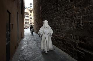 ダ・ヴィンチとフィレンツェ  没後500年、天才とその芸術を再現する役者たち