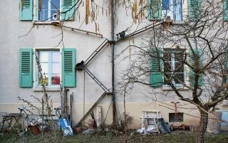 ネコの自由を重んじる国スイスで見つけた「ネコ専用はしご」 写真12点