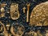 タツノオトシゴをかたどった黄金の装飾品(パナマ)