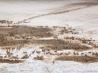 アファールの絶景7「塩田に集まるラクダの隊商」