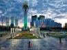 新首都のシンボル バイテレク(カザフスタン)