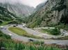アルプス越えの道路(スイス)
