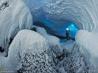 南極の活火山 エレバス 1 ハット氷洞の造形美