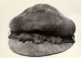 キノコでできた帽子