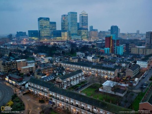 金融街に生まれ変わったカナリー・ワーフ (ロンドン)