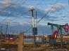 ソ連時代から操業する石油掘削基地 (アゼルバイジャン)