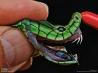 毒ヘビ ジェイムソンマンバの鋭い牙