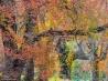 紅葉したウッドローンの木々(米国デラウェア州)