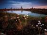 およそ1000年前にバルト海が後退して形成された湿地帯