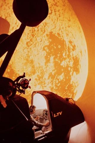 50年前の宇宙飛行シミュレータ