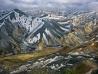 アイスランドの高原