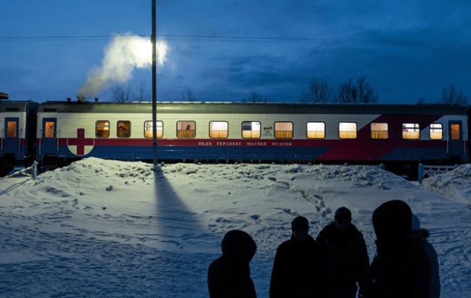 辺境の命を支えるロシアの医療列車