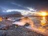 ベーリング海の夕陽