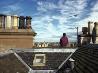 屋根の上、エディンバラ