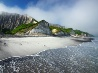 択捉島の白い崖