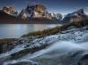 グリーンランドのフィヨルド