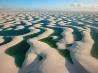 砂丘と水たまり
