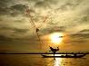 夕焼け空、インドネシア