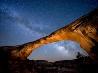 夜のオワチョモ・ブリッジ、ユタ州