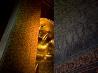 金色の涅槃仏、タイ