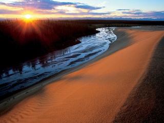 グレート・コバック砂丘、アラスカ州