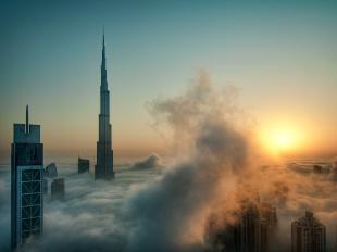 ドバイの摩天楼