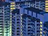 立ち並ぶ公団住宅、シンガポール