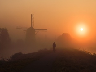 自転車通学、オランダ